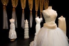 Vestido de casamentos Foto de Stock