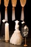 Vestido de casamentos Imagem de Stock Royalty Free