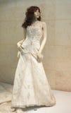 Vestido de casamentos Imagem de Stock