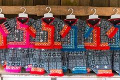 Vestido de Hmong fotografia de stock royalty free