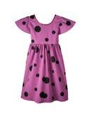 Vestido de la lila del bebé Fotografía de archivo libre de regalías