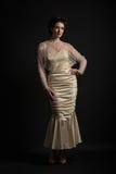 Vestido de la sirena del vintage Fotos de archivo libres de regalías