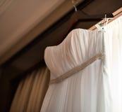 Vestido de los accesorios de la boda Fotos de archivo libres de regalías