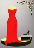 Vestido de noche Foto de archivo libre de regalías