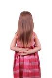 Vestido de noche de la muchacha que desgasta Fotos de archivo