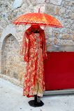 Vestido de noite oriental do estilo Imagem de Stock