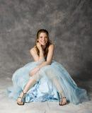 Vestido de partido formal foto de stock royalty free