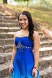 Vestido de Quinceanera foto de stock