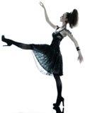 Vestido de seda do verão do preto da forma da mulher Foto de Stock
