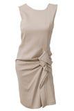 Vestido del algodón de la mujer Imagenes de archivo