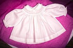 Vestido del bebé Imagenes de archivo