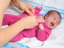 Vestido del bebé Fotos de archivo