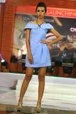 Vestido del desfile de moda retro Fotos de archivo libres de regalías