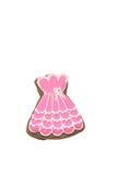 Vestido del rosa del pan de jengibre Imagen de archivo
