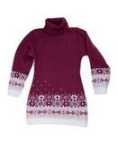 Vestido del suéter Imagen de archivo