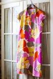 Vestido del verano del algodón Imagenes de archivo
