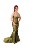 Vestido do baile de finalistas Fotografia de Stock