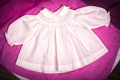 Vestido do bebê Imagens de Stock