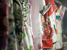 Vestido do chinês Foto de Stock Royalty Free