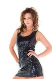 Vestido do disco imagem de stock royalty free