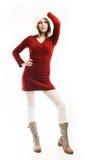 Vestido do outono Fotos de Stock