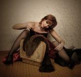 Vestido do vintage Imagem de Stock Royalty Free