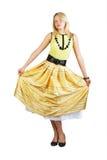 Vestido en la falda Imágenes de archivo libres de regalías