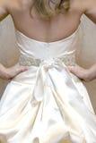 Vestido gownwedding Wedding imagens de stock