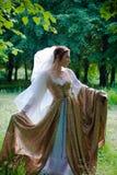 Vestido italiano do renascimento Foto de Stock