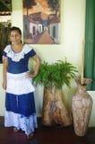Vestido latinoamericano folclórico Foto de archivo libre de regalías
