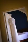 Vestido nupcial   Foto de archivo libre de regalías