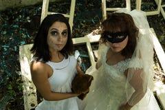 Vestido para el partido fantasmagórico Foto de archivo