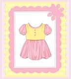 Vestido para o bebê Imagens de Stock Royalty Free