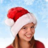 Vestido para o feriado do Natal imagens de stock