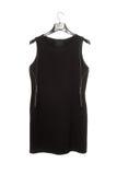 Vestido sin mangas negro Imagen de archivo libre de regalías