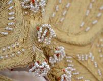 Vestido tradicional turco de la mujer Imagen de archivo libre de regalías