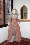 Vestido veneciano Imágenes de archivo libres de regalías