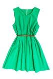Vestido verde imagen de archivo libre de regalías