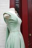 Vestido verde antigo Imagens de Stock