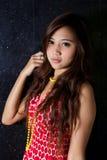 Vestido vermelho Foto de Stock