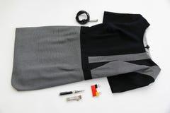 Vestido y accesorios para la oficina Negocios Día de madres Moda Fotos de archivo libres de regalías
