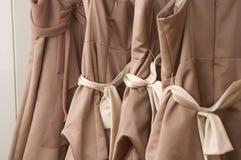 Vestidos da dama de honra fotografia de stock