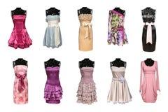 Vestidos das mulheres fotos de stock