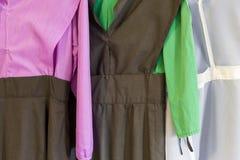 Vestidos de Amish fotos de stock royalty free