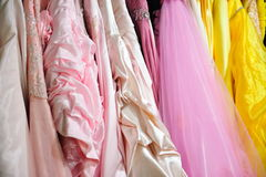 Vestidos de boda Imágenes de archivo libres de regalías