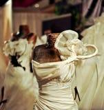 Vestidos de casamento 4 fotografia de stock