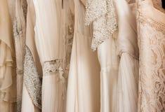 Vestidos de casamento fotos de stock