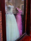 Vestidos de casamento bonitos Fotos de Stock Royalty Free