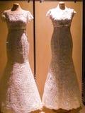 Vestidos de noite Imagem de Stock