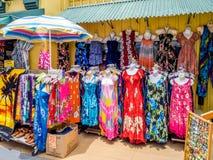 Vestidos do Hawaiian fotos de stock